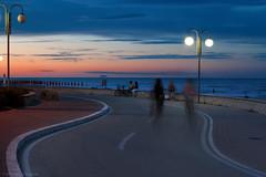 Tortoreto (Ivano Di Benedetto) Tags: tramonto sunset tortoreto abruzzo lungomare tortoretolido beach sea adriaticsea adriatico