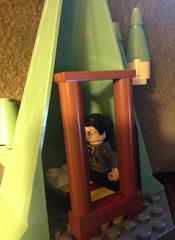 Gryffindor Bedroom (David$19) Tags: lego legoharrypotter gryffindortower harrypotter hogwartscastle hogwarts bed