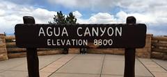 Utah - Bryce Canyon Nation Park - Agua Canyon - Elevation Sign (jared422_80) Tags: utah bryce canyon may 2016