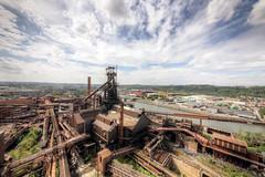 Ocelové město (Michal Seidl) Tags: abandoned steel factory hfb blast furnace vysoká pec ocelárna opuštěná industry lost decay urbex hdr belgium canon 6d sigma 1224