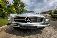 1967 Mercedes-Benz 250 SL Pagoda (Saad Sarfraz Sheikh) Tags: vintage classic car auto travel collectors item jaguar mg roaster mercedes mercedesbenz alfaromeo building architecture portfolio lahore pakistan punjab esquire 1967 250 sl pagoda