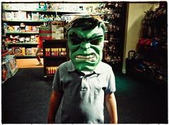 Hulk (PattyK.) Tags: greece grecia griechenland snapseed ioannina hellas ellada ιωάννινα ελλάδα μάσκα γιόσ οικογένεια mask hulk green boy son family