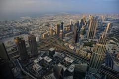 DUBAI SKYLINE (dale hartrick) Tags: cityskyline dubaicityskyline dubai burjkhalifa