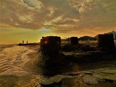 Chateau d'illusions (misamass) Tags: hérault la grande motte chateau sables coucher de soleil