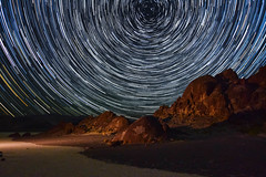 Death Valley Racetrack Star Trail (Gooch Photography) Tags: deathvalley theracetrack playa rocks startrail starcircle stars astrophotography desert california lll