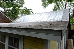 Roof and Rain Gutter (Key West Wedding Photography) Tags: house houses home homes renovate renovations rust roof roofs rustyroofs keywest florida cayobo helenbo