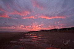 Camber sands. (Karl Horsman) Tags: sunset beach sand reflection eastsussex clouds canonuk canon sigma uk landscape landscapephotography atmosphere atmospheric foreshore movement seascape