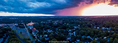 Canandaigua Court house and the city after a summer storm - pano - 20170625.jpg (Stephen Kalbach) Tags: canandaigua newyork unitedstates us
