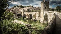 Besalu Castle, Catalunya, Spain (KielTheLegend) Tags: besalú catalunya spain es heritage castle medaeval kielthelegend bridge canon powershot sx280 hs