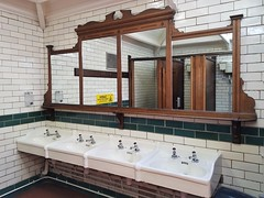 2017 0625 520 (SGS8+) Silloth; restored Edwardian ladies loo (Lucy Melford) Tags: samsunggalaxys8 cumbria silloth restored edwardian toilet