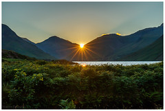 Wastwater sunrise (malcbawn) Tags: wasdale landscape greatgable lakedistrict nationalpark lingmellfell scafell wasdalehead pillar clouds unesco lakes kirkfell outdoors yewbarrow wastwater mosedale mountains malcbawnphotography