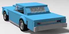 64 Pontiac GTO (GalacticGravitySurfer) Tags: 64 1964 pontiac gto musclecar delorean lego 389