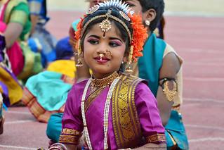 Kuchipudi Guinness Dance -Hyderabad 2014 (1)
