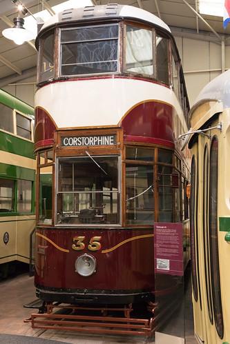 Edinburgh tram | 1948 | Crich Tramway Village-40