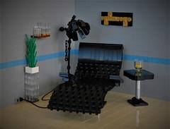 Relaxation (adde51) Tags: foitsop adde51 lego moc chair cmf baseplate sbc swebrick challenge room lounge relax relaxing scene