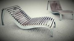 Invitation (sevej06) Tags: stjeandemonts bancs chaises longues