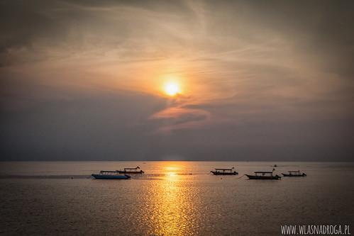 Zachód słońca na Wyspie Tioman