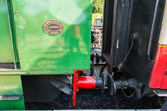 Bo'ness & Kinneil Railway - NCB (060ST) Engine No 9 Shunting 3 (Le Monde1) Tags: boness kinneil lemonde1 nikon d800e museum heritage uk bonesskinneilrailway museumofscottishrailways ncb 060st engine locomotive no9 footbridge shunting scotland steam railway