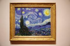 The Starry Night (sarowen) Tags: newyorkcity newyork nyc moma museumofmodernart thestarrynight starrynight vangogh vincentvangogh art painting
