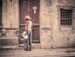 Streets of Havana - Cuba (IV2K) Tags: havana habana lahabana cuba cuban kuba caribbean sony sonyrx1 habanavieja havanacentro centrohavana fidelcastro fidel castro concordia cowboy street urban