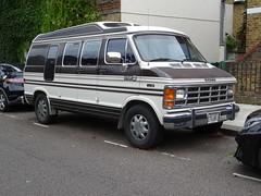 1988 Dodge Ram Motorhome (Neil's classics) Tags: vehicle car van wagon 1988 dodge ram camping motorhome autosleeper motorcaravan rv caravanette kombi mobilehome dormobile