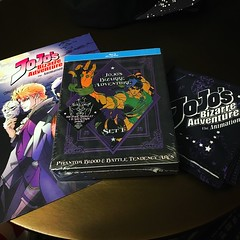 Day one pick ups from comic-con.  #nintendo #supermariobros #videogames #jojosbizarreadventure #anime #comiccon #nes #sdcc #sdcc2017 (djdac) Tags: nes sdcc sdcc2017 nintendo supermariobros videogames jojosbizarreadventure anime comiccon