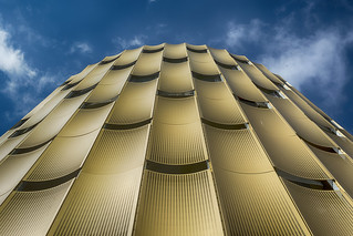 Golden parking garage (on Explore)