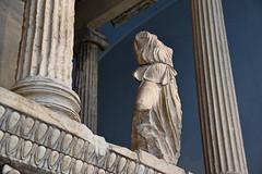 Nereid Monument, British Museum (meg21210) Tags: britishmuseum nereidmonumnet turkey turkish lykian tomb 39080bc temple greekinfluence london england uk greatbritain nereids reconstruction columns sculpture figural egganddart ionic museum classical ancient arbinas noble nobleman