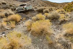And His Momma Cried (garshna) Tags: rusty abandoned desert gully sky oldcar deserted derelict
