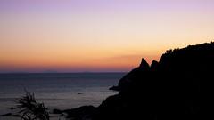A domani (LaSagra) Tags: grotticelle capo vaticano alba tramonto milky way via lattea mare sea acqua water