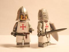 Deus Vult (KampfgruppeLego) Tags: mmcb medieval knights