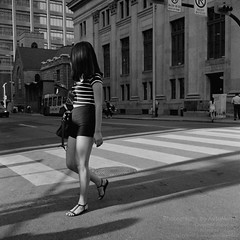 * City GIrl... (DA★AutoManiA) Tags: rollei rolleiflex rolleiflex35f 35f 35ftypeii carlzeiss planar 75mm ilford hp5 hp5plus street streetphotography staybrokeshootfilm filmisnotdead filmphotography ilovefilm 35mmto120 believeinfilm buyfilmnotmegapixel 120 mediumformat silverfast shootfilm ishootfilm sanp candid