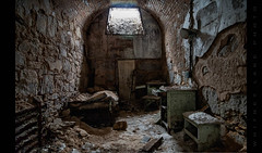 All the Comforts of Home (Whitney Lake) Tags: archaic cell decay pennsylvania philadelphia abandoned jail prison easternstatepenitentiary