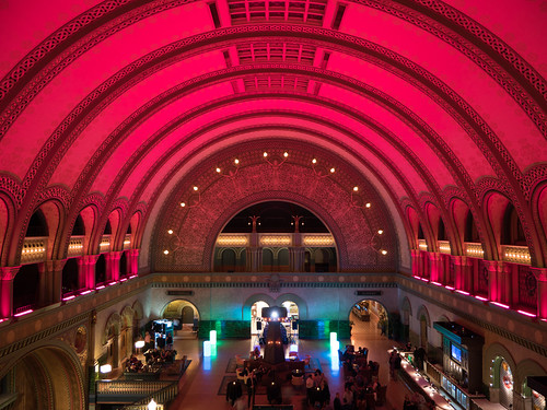 Union Station Lobby at Night