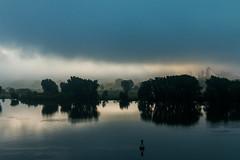 Morning Mist Along the River (langdon10) Tags: canada canon70d fog montreal overcast quebec shoreline stlawrenceriver mist morninglight outdoors
