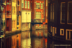 Golden Amsterdam Reflections (Jenny Rainbow (jenny-rainbow.pixels.com)) Tags: jennyrainbowfineartphotography amsterdam canal channel architecture amsterdamarchitecture oldbuildings windows reflections houses europe city netherlands water amsterdamcanal amsterdamhouses street streetscene vintagestyle golden dutchhouses holland dutch tourism destination dutchcity amsterdamcafe details buildings inviting amsterdamwalk europeancity european travel waterreflections artforlicensing life amsterdamlife dutchlife outdoors urban retro retrostyle