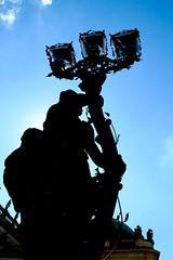 Sans Souci - Potsdam (Podrobnost) Tags: kathilemon lemon kathi potsdam skulptur black sky blue tamron canon palais sanssouci lamp