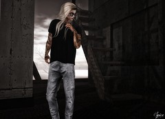Spice wearing MGmen's Jeans Newera T-Shirt May K&S Rich Pose @ MOM Boutique 187 Summer Glasses (Two Too Fashion) Tags: secondlife secondlifemodel secondlifefashion secondlifeblogger twotoofashion mgmensstore mgmensstoremaytshirt maytshirt mgmensstorenewerajeans newerajeans ksposes ks ksrichpose menonlymonthly mom boutique187 boutique187summerglasses fashion fashionoutfit maleoutfit maleshirt malepants malejeans glasses fashionglasses malefashion fashionmaleoutfit fashionpose