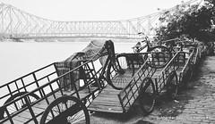 Short in space Kolkata #kolkatagram #kolkatadiaries #kolkata #bridge #ganges #gangesriver #monochrome #india #riverdale #indianriver #riverbank (subho_1988) Tags: instagramapp square squareformat iphoneography uploaded:by=instagram moon