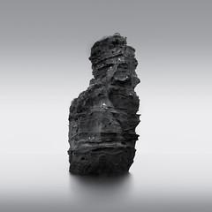 Ladram Bay (SeanAshtonPhotography) Tags: longexposure monochrome black white winter bw leefilters seascape rocks outdoor moody clouds minimalist fineart photography canon landscape devon