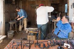 clackamas county fair (dolanh) Tags: horseshoes clackamascountyfair ironwork oldwest forge