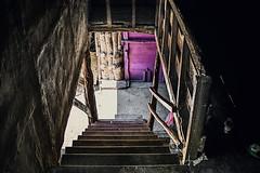 It has been overwritten (Melissa Maples) Tags: keçiborlu turkey türkiye asia 土耳其 nikon d3300 ニコン 尼康 nikkor afs 18200mm f3556g 18200mmf3556g vr iskotur roadtrip excursion summer purple door staircase steps stairs wooden