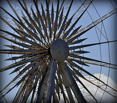 Pin Wheel (Maria .... on here to learn and be inspired.) Tags: bigwheel pinwheel ride albertdock fun outdoor sculpture outside seaside fairground family