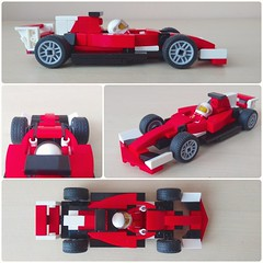 Scuderia Ferrari SF70-H (2017 F1 car) (LEGO_MOCkingJ) Tags: lego f1 formula1 racecar scuderiaferrari sf70h speedchampions