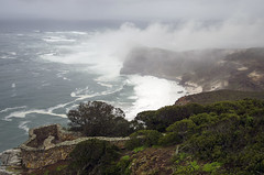 Cape of Good Hope 2 (Stonebridge65) Tags: capeofgoodhope kaapdegoedehoop southafrica zuidafrika africa afrika sea zee clouds wolken regen rain regenwolken rainclouds kust coast kustlijn coastline weer weather westkaap nikon d5100 tamron landscape seascape