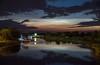 Noctilucent clouds over river Lielupe (jsenniko) Tags: noctilucentclouds sudrabainiemākoņi jelgava lielupe
