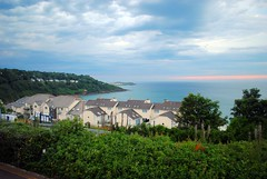 Carbis Bay Sunset 1 (zawtowers) Tags: cornwall kernow summer holiday break vacation july 2017 carbis bay porth reb tor late evening sunset overlooking sea seaside resort calm peaceful