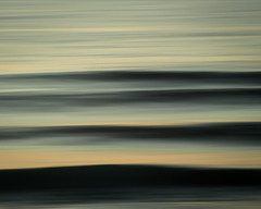 Lines for days... (josémiguelmadeira) Tags: waves lines ocean color colour iso panning sunset paralel yellow blue grey golden light surf sports landscape motion slow shutter long exposure