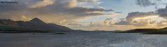 Croagh Patrick (C.M_Photography) Tags: sony90mm mountains croaghpatrick sonyfe pano panorama sunset westport ireland mayo sunlight sea countymayo