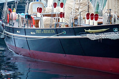 DSC08063 - Spirt of Bermuda (archer10 (Dennis) 101M Views) Tags: halifax ship tall fog fishing lobster boats sony a6300 ilce6300 18200mm 1650mm mirrorless free freepicture archer10 dennis jarvis dennisgjarvis dennisjarvis iamcanadian novascotia canada rendezvous2017tallshipsregatta tallships halifaxharbour